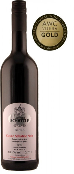 2015 Cuvée Schätzle Noir trocken *SL Barrique 0,5l