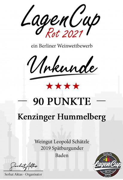 2019 Kenzinger Hummelberg Spätburgunder trocken ♥♥ 912