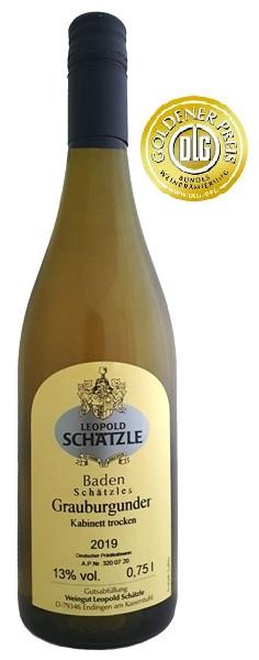 2019 Schätzle Grauburgunder trocken 0,375l